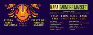Fiesta del Primer Sábado en el Mercado de Agricultores de Napa