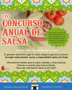 Quinto Concurso Anual de Salsa  (CANCEL)