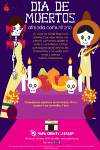 Día de Muertos: Ofrenda Comunitaria